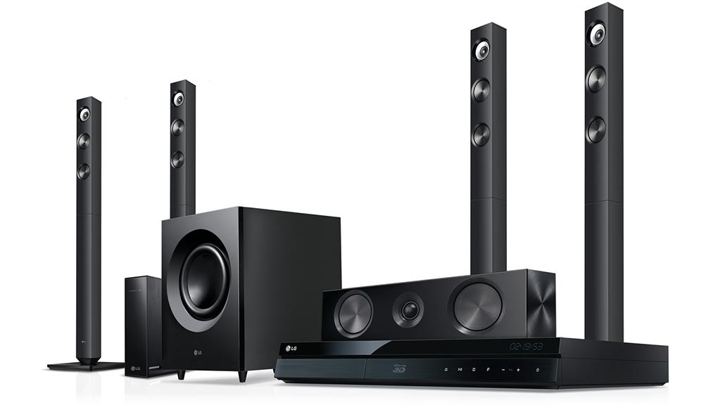 قدرت و توان خروجی صدا در سیستم صوتی خانگی