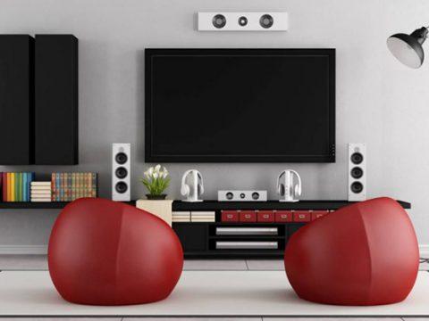 سینمای خانگی یا سیستم صوتی خانگی